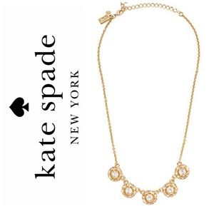 ♠️ Kate Spade Sparkle Row Necklace
